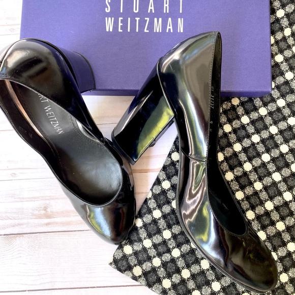 Stuart Weitzman patent heels